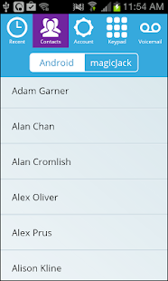 magicApp by magicJack - screenshot thumbnail