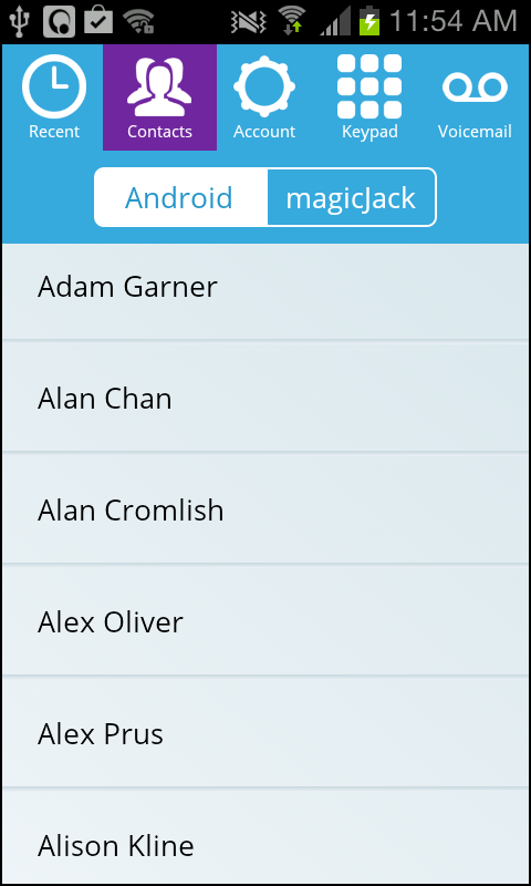 magicApp by magicJack - screenshot