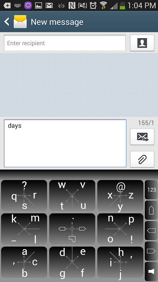 PilotKey Keyboard( Pilot Key ) - screenshot