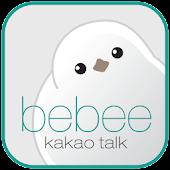 kakao talk theme_bebee