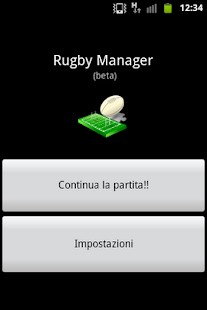 Rugby Manager (lite)- screenshot thumbnail