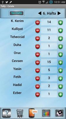 Çetele Programı - (Cetele) - screenshot