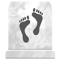 Grave site location icon