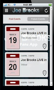 Joe Brooks Fan APP- screenshot thumbnail