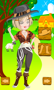 Farmer Girl Dress Up Games - screenshot thumbnail