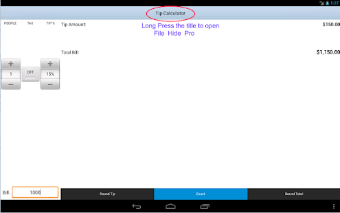 File Hide Pro - screenshot thumbnail