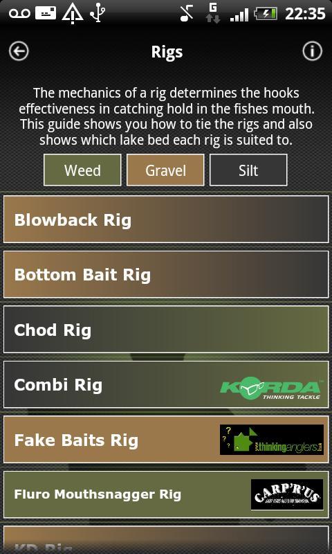 iRigs - Carp Fishing- screenshot