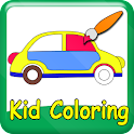 Kid Coloring, Kid Paint logo