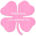 PinkWoody Go Launcher EX Theme icon