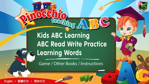 Pinocchio Teaching ABCs Kids