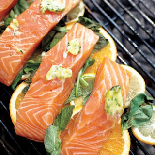 Grilled Fish with Citrus.