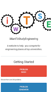 iWantToStudyEngineering- screenshot thumbnail