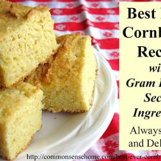 Gram Irene's Best Cornbread