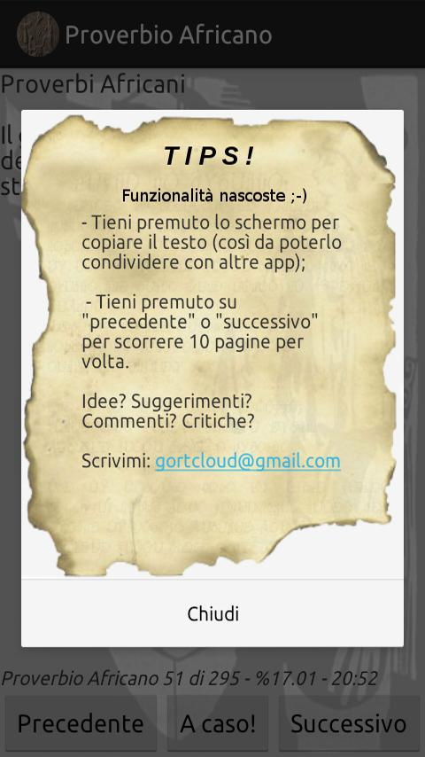 Perle di Saggezza - screenshot