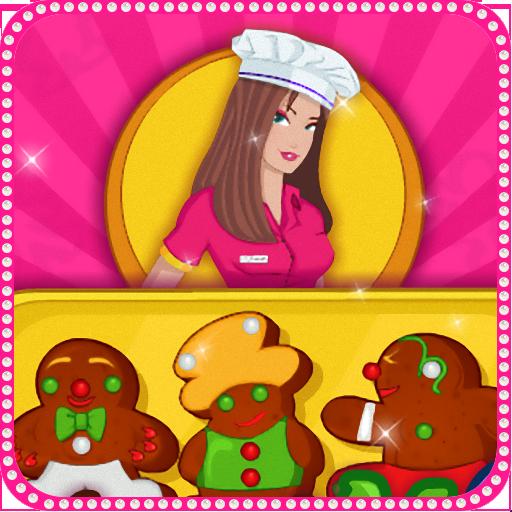 休闲のクッキーを調理:ジンジャーブレッド LOGO-記事Game