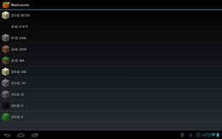 Screenshot of PocketInvEditor Pro