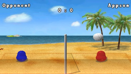 Blobby Volleyball- screenshot thumbnail