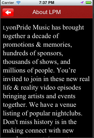 LyonPride Music- screenshot