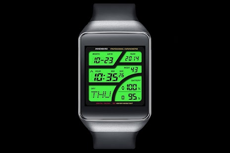 A41 WatchFace for Android Wear - náhled