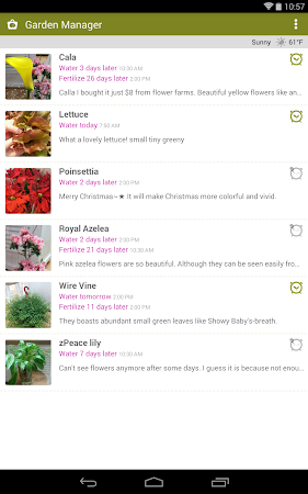 Garden Manager : Plant Alarm 1.7.8 screenshot 257012