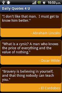 Daily Quotes 4 U - screenshot thumbnail