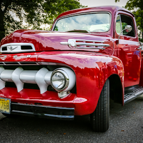 Ford F-1 by Dave Dabour - Transportation Automobiles ( f-1, pickup, truck, pickup truck, ford, historic,  )