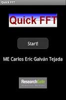 Screenshot of Quick FFT - Free
