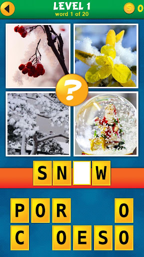 4 Pics 1 Word Puzzle Plus 1.0.9 screenshots 1