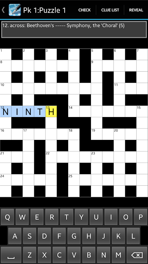 Crossword v1.34 APK 1