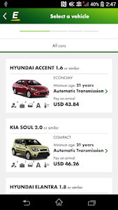 Europcar – Car Rental App screenshot 0