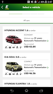 Europcar – Car Rental App- screenshot thumbnail