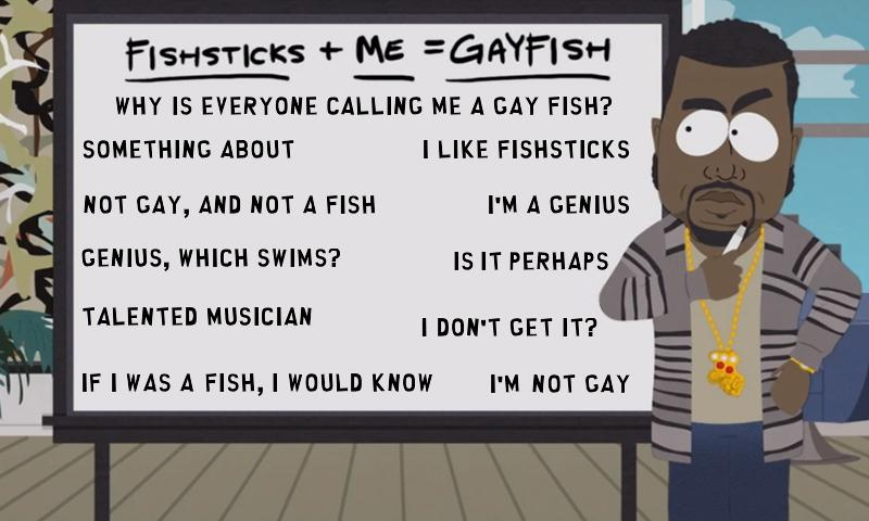 Kanye West Gay Fish Soundboard - screenshot