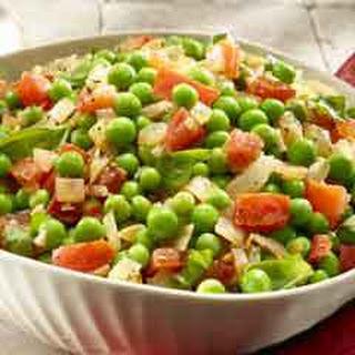 Italian Peas & Tomatoes