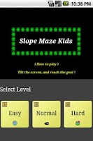 Screenshot of Slope Maze Kids