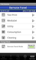 Screenshot of VSM Mobile