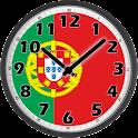 Portugal Flag Analog Clock logo