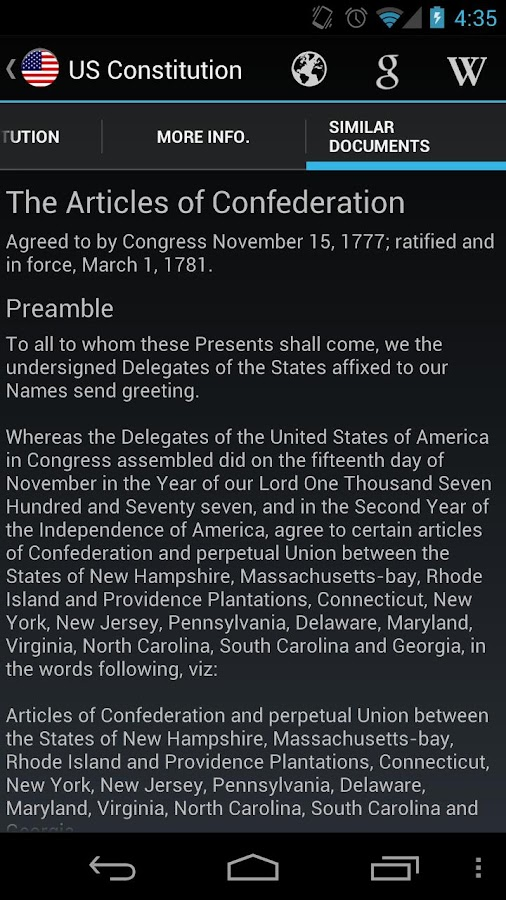 a report on the birth of the articles of confederation The articles of the confederation essay example  there have been conflicting views on the nature of man since the birth of the united states of america some have .