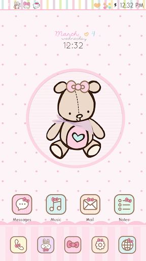 Girl Thing GO Launcher