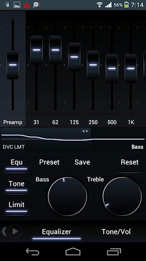 音樂等化器低音-臨