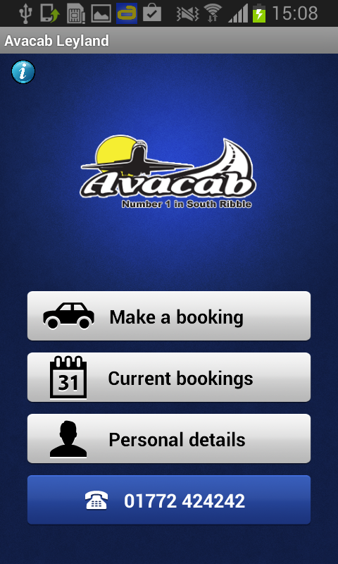 Avacab- screenshot