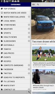 WAFB Local News - screenshot thumbnail