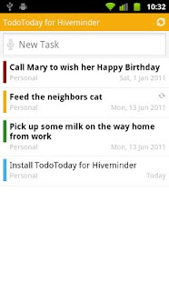 TodoToday for Hiveminder - screenshot thumbnail