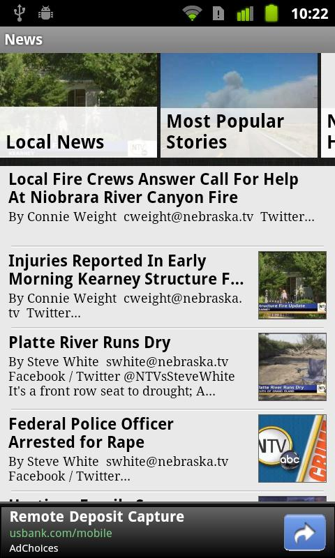 NTV News Mobile App - screenshot