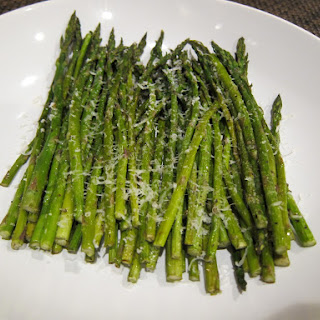 Oven Roasted Asparagus.