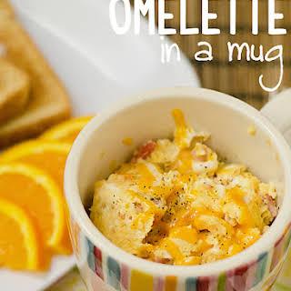 2 Minute Omelette in a Mug.