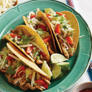 Orange-Spiked Pork Tacos with Add-In Bar