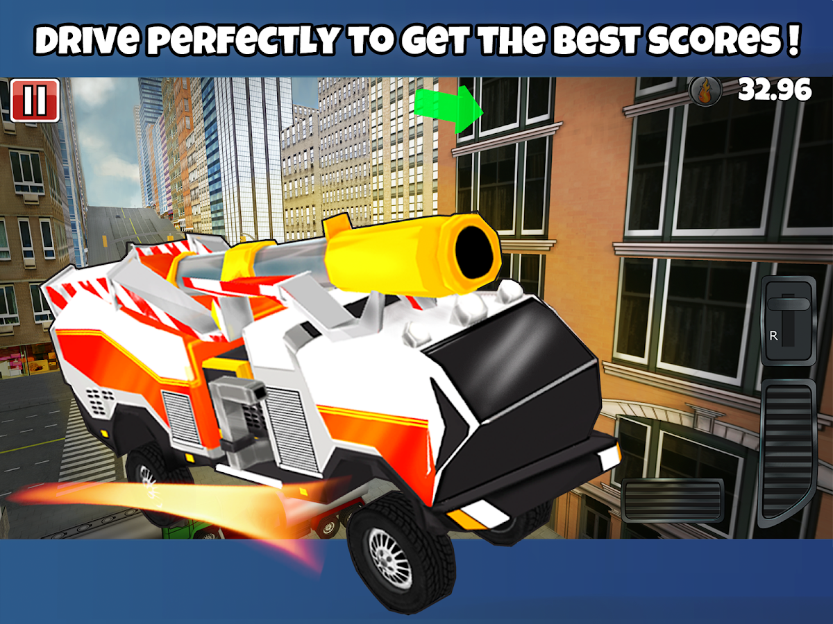 Fire Truck 3D - screenshot