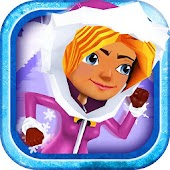 3D Frozen Girly Run Game FREE