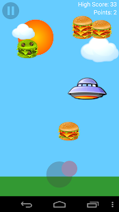 Burger UFO- screenshot thumbnail