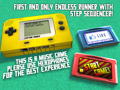 Chiptune Runner- screenshot thumbnail